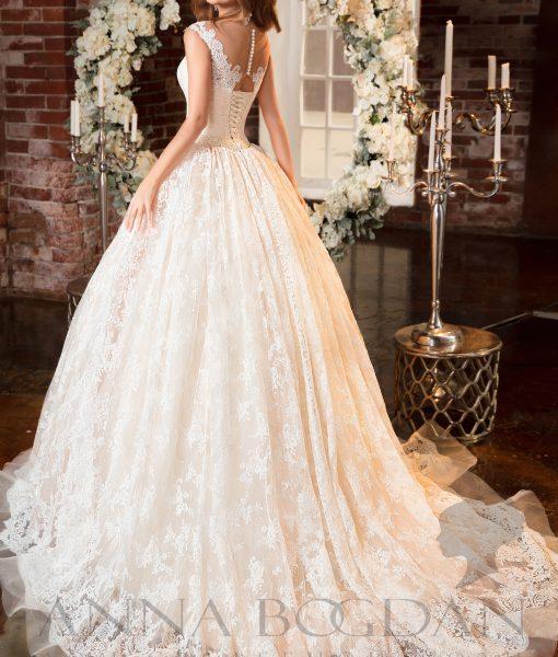 """Свадебный салон """"Купидон"""" - Свадебные платья - Молли спинка"""