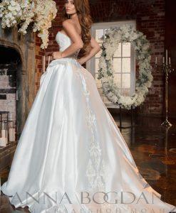 """Свадебный салон """"Купидон"""" - Свадебные платья - Моника спинка"""