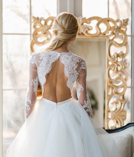 """Свадебный салон """"Купидон"""" - Свадебные платья - Ронсе+спинка1"""