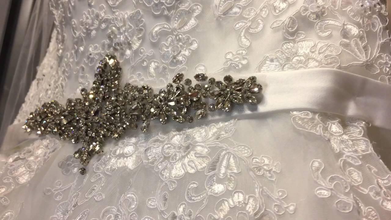 Шнуровка свадебного платья __